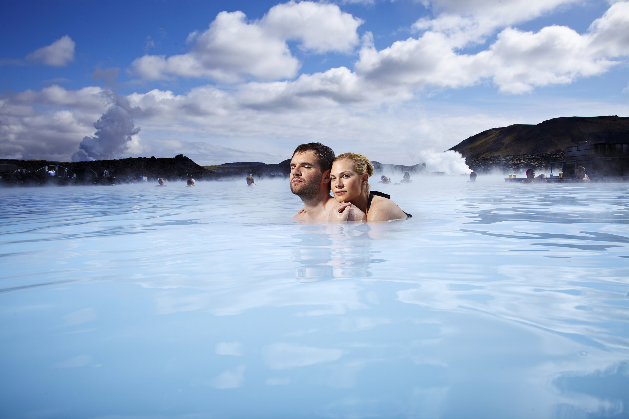 Iceland is one of the world's most ultimate destinations for a hot tub break .... photo by CC user greenlandtravel on Flickr