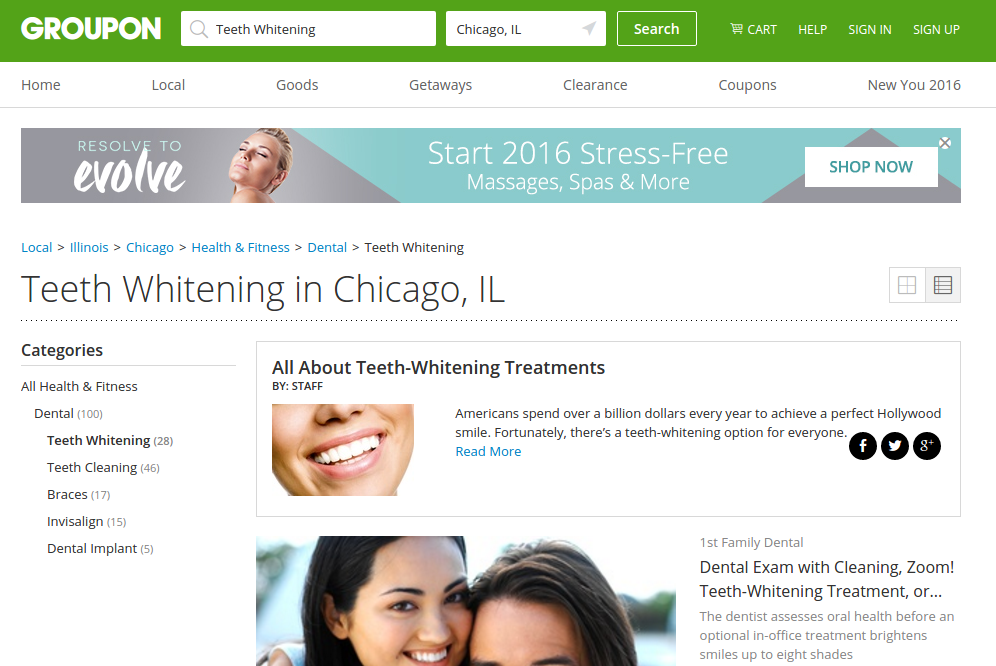 Save money when you visit the dentist with Groupon